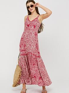 monsoon-sunita-print-ecovero-maxi-dress-pink