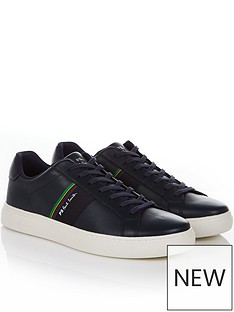 ps-paul-smith-mens-rex-leather-trainers--nbspdark-navy