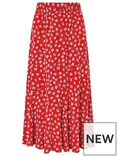 monsoon-arwinnbspdaisy-print-skirt-red