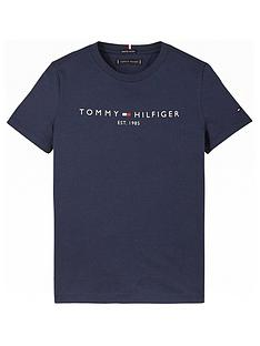 tommy-hilfiger-boys-short-sleeve-essential-logo-t-shirt-navy