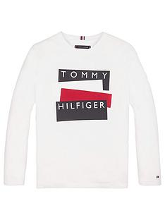 tommy-hilfiger-boys-long-sleeve-sticker-logo-t-shirtnbsp-white