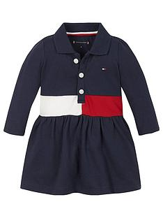 tommy-hilfiger-baby-girls-flag-polo-dress