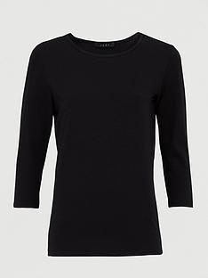 v-by-very-the-essential-three-quarternbspsleeve-crew-neck-t-shirt-black