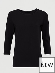 v-by-very-the-essential-three-quarternbspsleeve-crew-neck-t-shirt-black