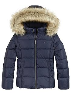tommy-hilfiger-girls-essential-faux-fur-hooded-jacket