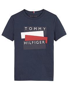 tommy-hilfiger-boys-short-sleeve-sticker-logo-t-shirt-navy