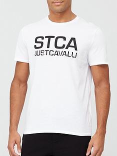 just-cavalli-stca-logo-print-t-shirt-white