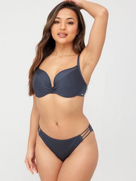 panache-marina-padded-twist-plunge-bikini-top-graphite