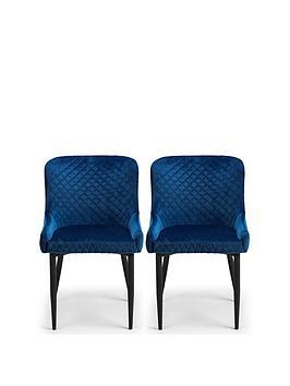 julian-bowen-pair-of-luxe-velvet-dining-chairs-blue