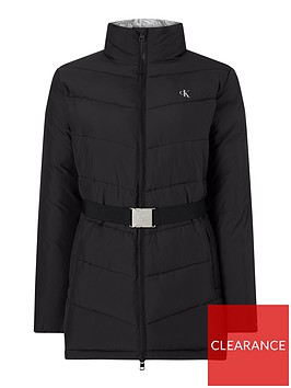calvin-klein-jeans-longnbspbelted-paddednbspjacket-black