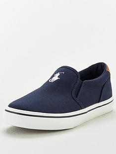 ralph-lauren-thompson-canvas-pony-slip-on-trainer-navy