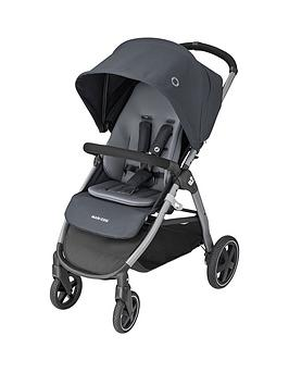 maxi-cosi-gia-one-hand-fold-strollernbsp--essential-graphite