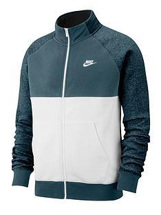 nike-nike-sportswear-fleece-tracksuit-green