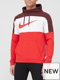nike-training-dry-overhead-hoodie-maroon