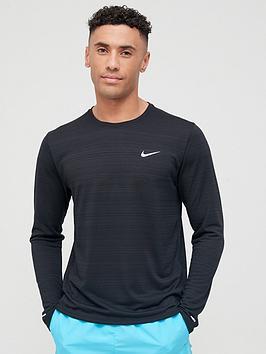 nike-miler-long-sleeve-running-top-black