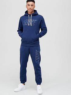 nike-sportswear-hooded-fleece-tracksuit-navy