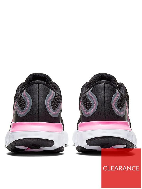 Apropiado analogía abajo  Nike Renew Run Junior Running Trainer - Black/Multi | very.co.uk
