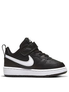nike-court-borough-low-2-infant-trainers-blackwhite