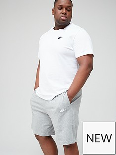 nike-sportswear-club-plus-size-shorts-dark-grey