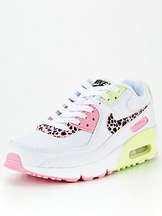 nike-air-max-90-junior-trainers-white