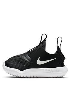 nike-flex-runner-infant-trainer-black-white