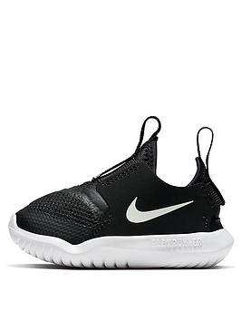 nike-flex-runner-infant-trainer-black-white
