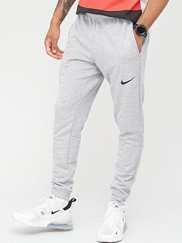 nike-training-dry-tapered-fleece-pants-dark-grey
