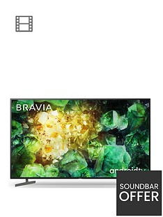 Sony Sony BRAVIA KD55XH81, 55 inch, 4K HDR Ultra HD, Android Smart TV with Voice Remote - Black Best Price, Cheapest Prices