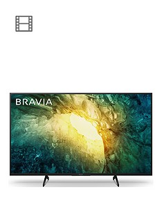 Sony BRAVIA KD43X705, 43-inch, 4K HDR Ultra HD- Black Best Price, Cheapest Prices