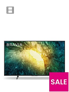 Sony Sony BRAVIA KD55X70, 55-inch,  4K HDR Ultra HD - Black Best Price, Cheapest Prices