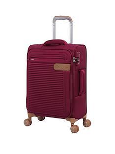 it-luggage-radiate-dark-red-cabin-case