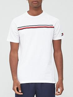 tommy-sport-stripe-t-shirt-white
