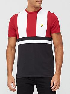 lyle-scott-fitness-club-short-sleeve-t-shirt-blackredwhite