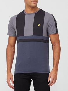 lyle-scott-fitness-club-short-sleeve-t-shirt-grey