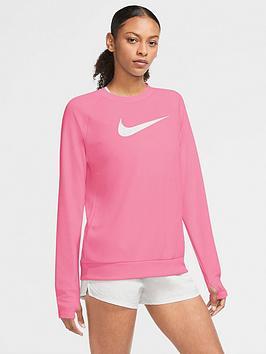 nike-running-long-sleeve-swoosh-crew-top-pink