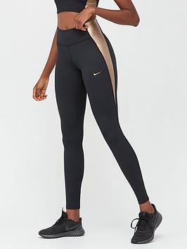 nike-the-one-colourblock-leggings-blackgoldnbsp