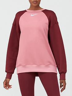nike-training-thermal-colourblock-sweatshirt-pinknbsp