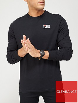 fila-vesuvius-long-sleeve-t-shirt-black