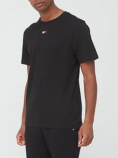 tommy-sport-flag-t-shirt-black