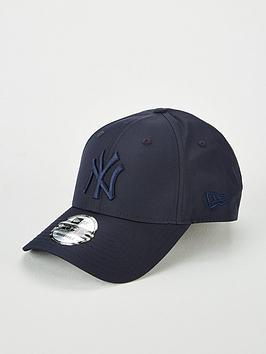 new-era-9forty-new-york-yankees-nylon-tonal-cap-navy