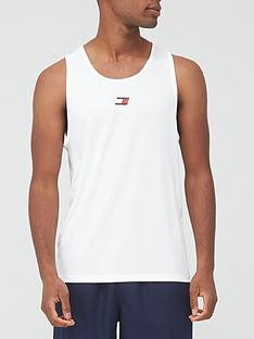 tommy-sport-training-vest-white