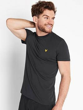 lyle-scott-fitness-martin-short-sleeve-t-shirt-black