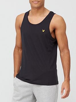 lyle-scott-fitness-dartmoor-vest-black