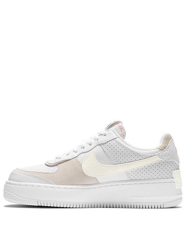 Nike Air Force 1 Shadow Trainer White Very Co Uk Bringing things back to chicago. air force 1 shadow trainer white