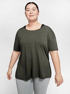 nike-curve-yoga-t-shirt-khaki