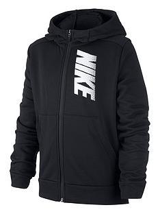 nike-older-boys-dry-fleece-full-zip-hoodie-black