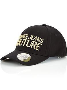 versace-jeans-couture-mens-logo-baseball-cap-black
