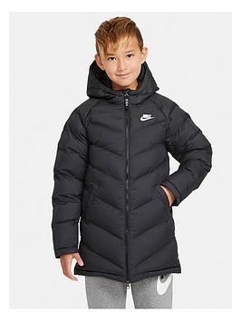nike-older-childrensnbspfilled-jacket-black