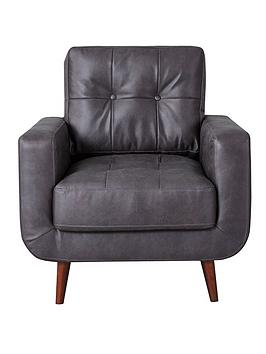skandi-faux-leather-chair