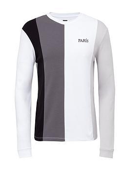 river-island-paris-colour-block-t-shirt